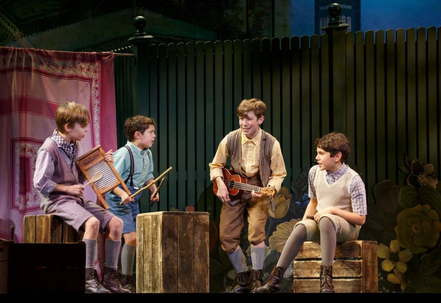 Child actors in 'Finding Neverland'