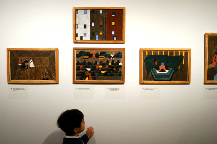 "3. ""Jacob Lawrence: The Migration Series"" on view at the Seattle Art Museum. Photo credit: JiaYing Grygiel"