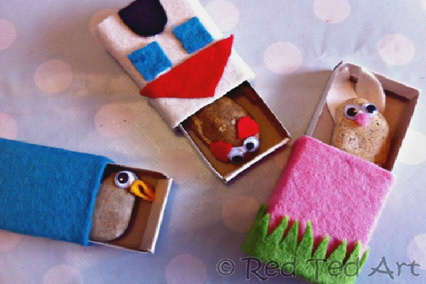 Pet rocks by Red Ted Art