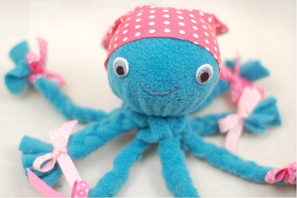 Octopus plush toy by While She Naps