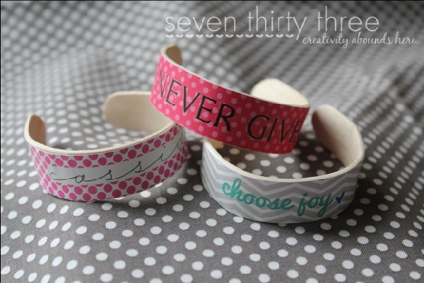 Crafty cuffs by Seven Thirty Three