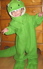 15 homemade halloween costumes featured on etsy parentmap dinosaur t rex costume amysewsits etsy store solutioingenieria Choice Image
