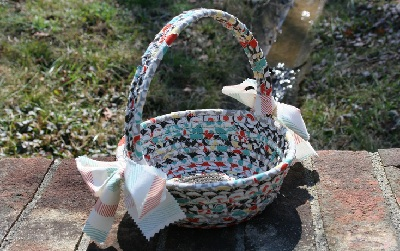 Easter basket by Snuggly Monkey on Etsy