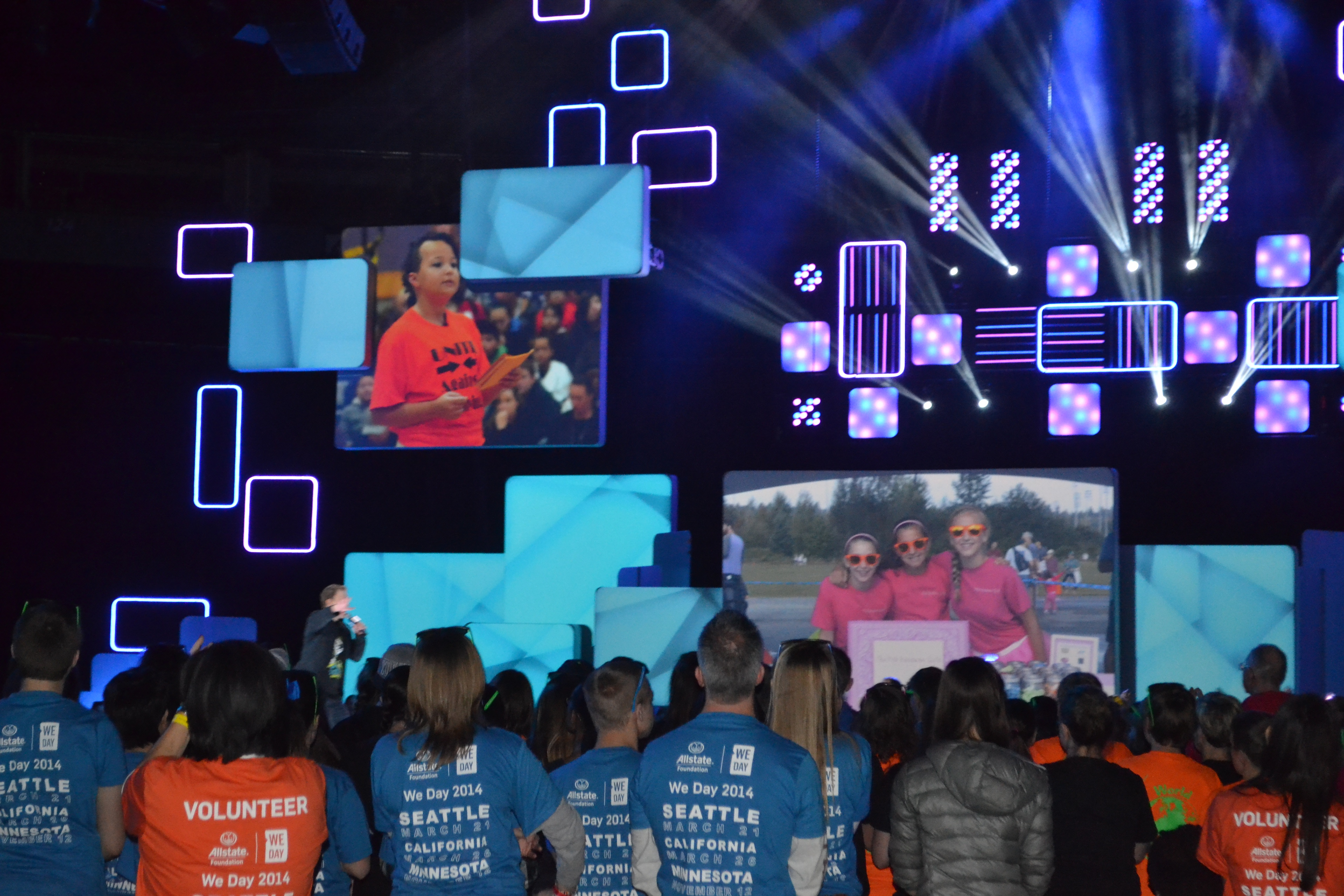 We Day Seattle 2014