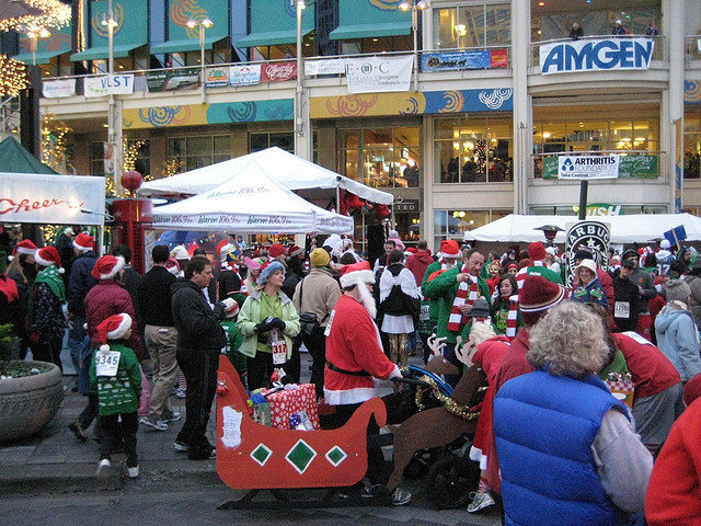 Reindeer up holiday races and fun runs for families for Fish food bank tacoma