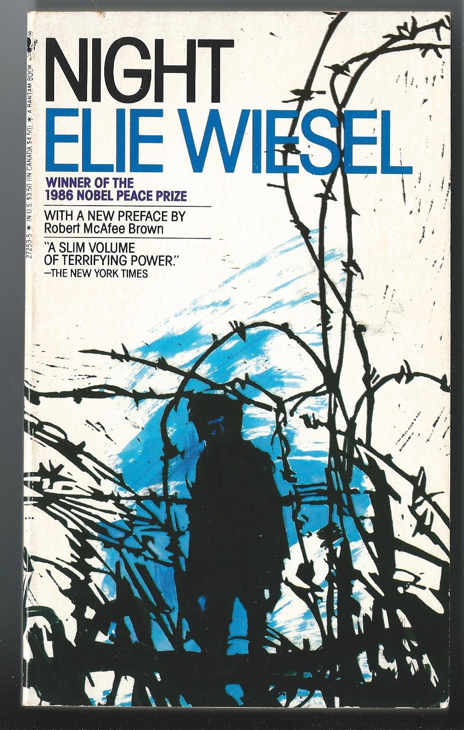 night elie wiesel loss of faith Night by elie wiesel is a survivor's account of the holocaust the flames are from an event that led to wiesel losing his faith, though whether it is in himself or in humanity is not clear from this quote.