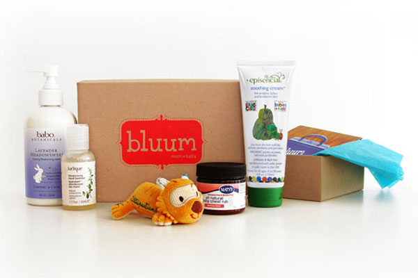 Great baby shower gifts: Bluum Box for mom and baby