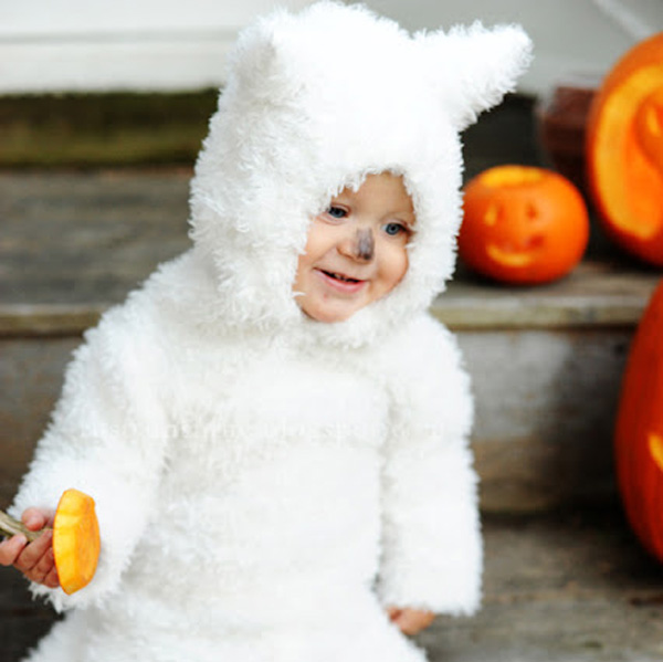 DIY Game of Thrones Dire wolf Halloween costume for kids by Rust and Sunshine