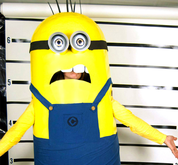 diy minion halloween costume for kids by while they snooze