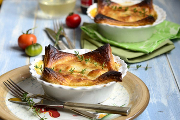 Thanksgiving leftovers idea: Curried turkey pies by Keep Calm and Eat On