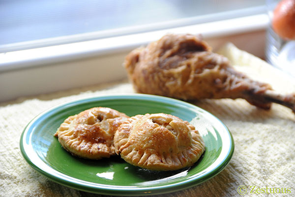 Thanksgiving leftovers idea: Thanksgiving leftovers hand pies by Zestuous