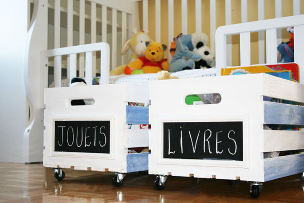 DIY organizing ideas: DIY toy organizers by Now At Home Mom