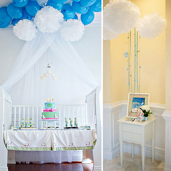 Unique baby shower themes: Lullaby-themed baby shower by Pure Joy Events