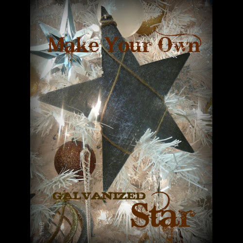 Make your own Christmas star