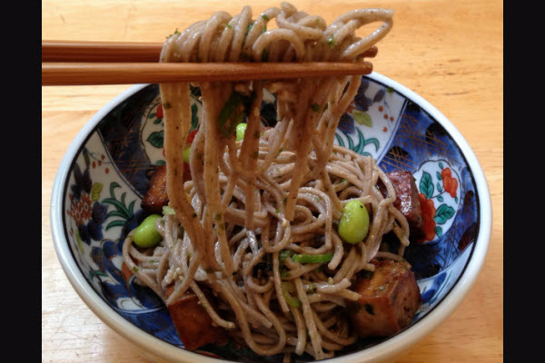 Soba Noodles traditional new years foods Japan