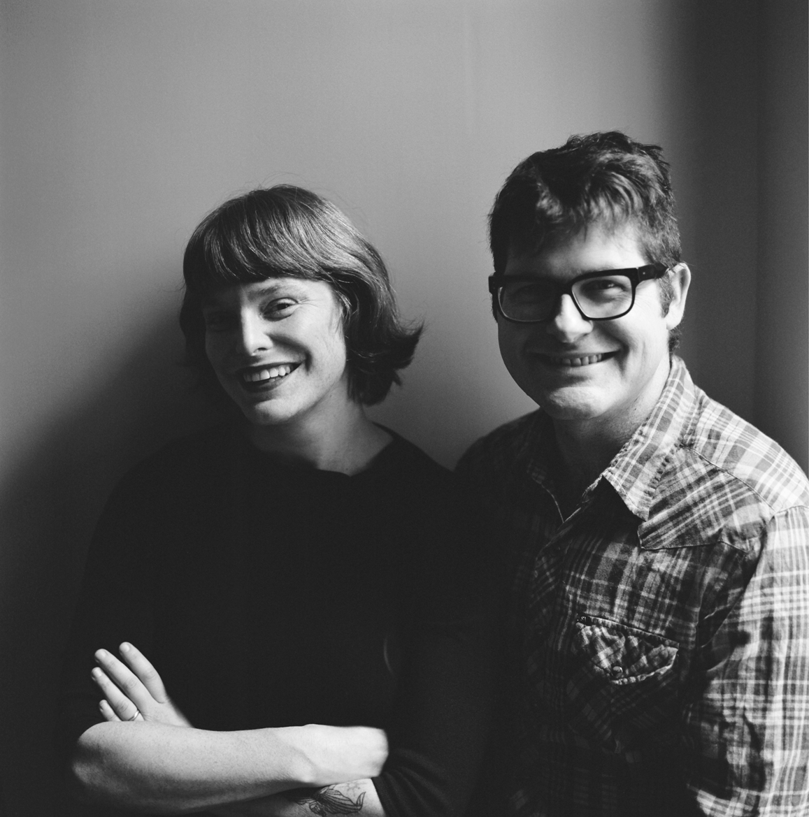Carson Ellis and Colin Meloy