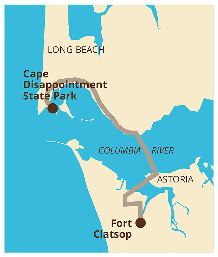 Time Travels Bring History To Life On A Family Adventure Vacation - Fort clatsop on us map