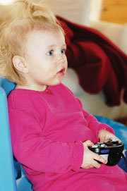 Baby video game