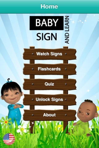 Baby Sign and Learn Lite iPhone app