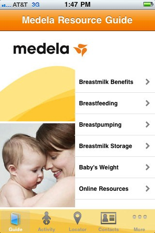 iBreastfeed iPhone app