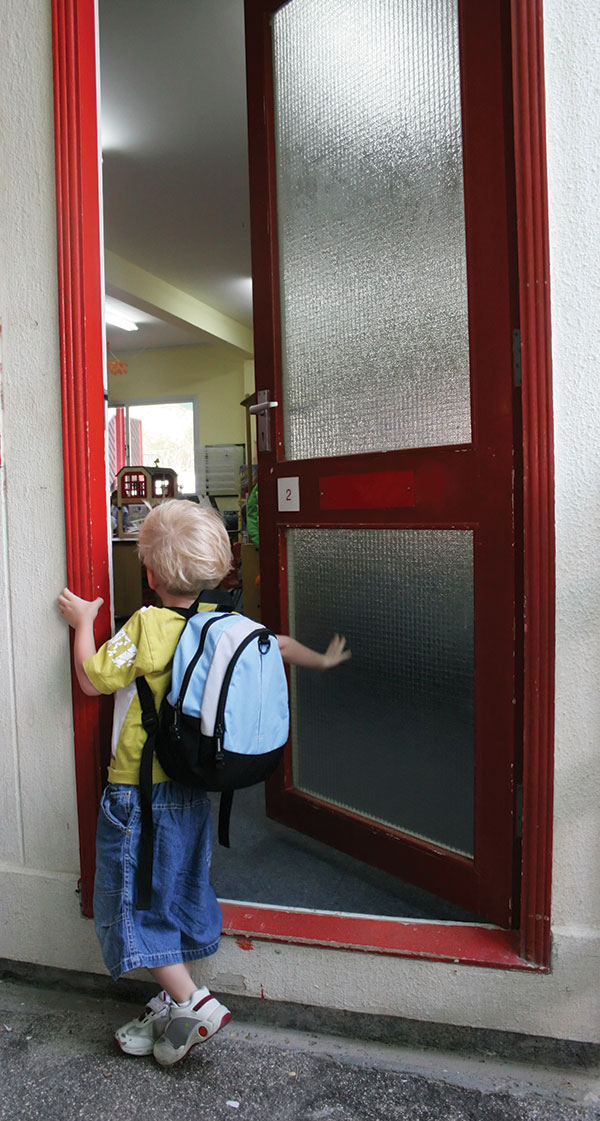 school safety since sandy boy opens door to school