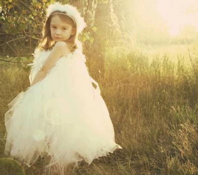 angel halloween costume by sunshines tutus on etsy - Kids Angel Halloween Costume