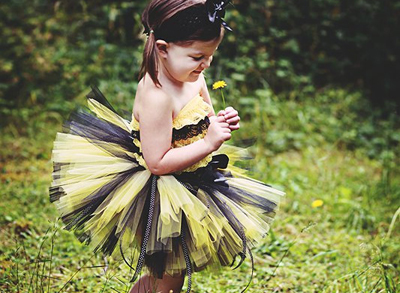 Bumblebee Halloween costume by Trinity's Tutus on Etsy