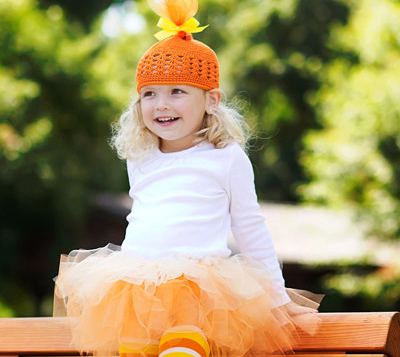 Candy corn Halloween costume by Happy Cakes Creations on Etsy  sc 1 st  ParentMap & 25 Homemade Halloween Costumes for Kids Featured on Etsy | ParentMap