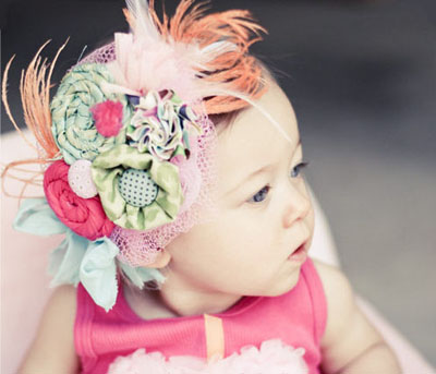 Couture children's headband by Fairytale Jubilee