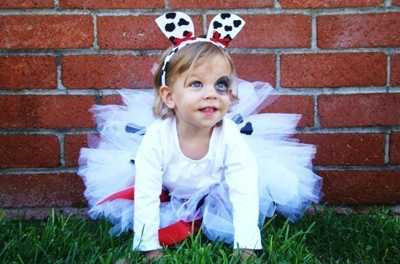 Dalmatian Halloween costume by Sweet Things Kids on Etsy