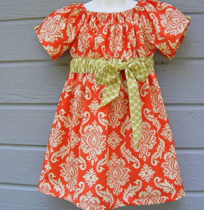 Peasant dress by Creative Bee on Etsy
