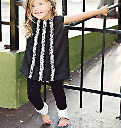 Black jumper dress by Simplicity Couture on Etsy