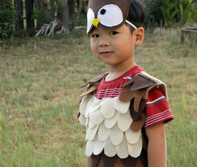 Halloween owl costume by Kiki's Delivery on Etsy