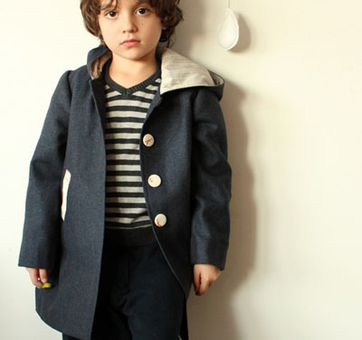 Children's coat by Your Doll on Etsy