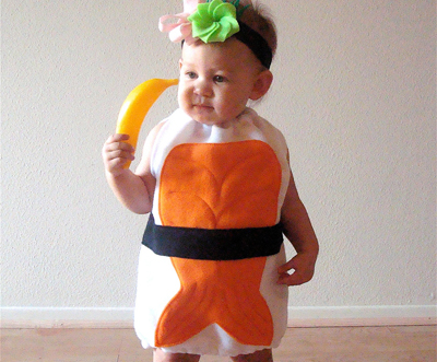 sushi halloween costume by not the kitchen sink - Little Miss Sunshine Halloween Costume