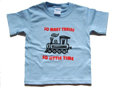 Train t-shirt by Rock River Tees