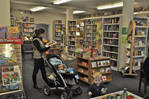 Best kid-friendly book store: Mockingbird Books