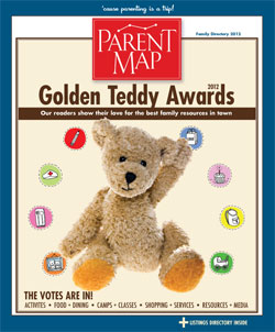 Flip through the Golden Teddy Awards/Family Directory Issue of ParentMap!