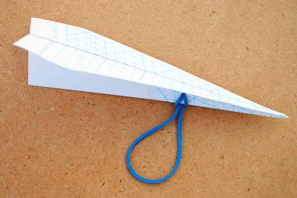 Homemade catapult paper airplane by Mini Eco