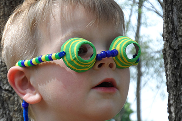 Homemade spy glasses for kids by Crafts By Amanda