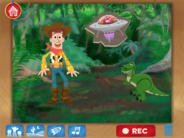 Toy Story: Story Theater educational apps for kids