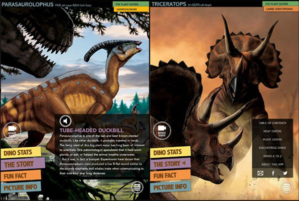 Ultimate Dinopedia: Complete Dinosaur Reference educational app for kids