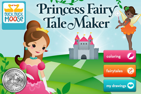 Princess Fairy Tale Maker educational app for kids