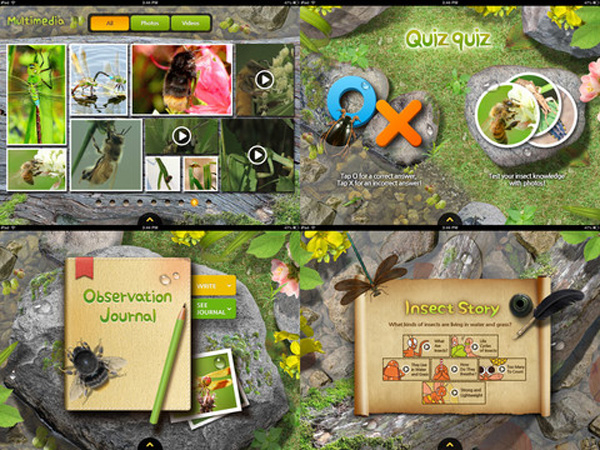 Meet the Insects: Village Edition educational app for kids