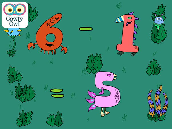 Little Digits educational app for kids