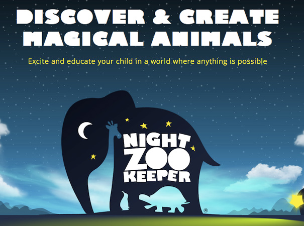 Night Zookeeper Teleporting Torch educational app for kids