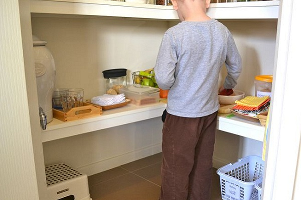 Montessor Kitchen by How we Montessori