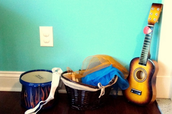Music corner by My World, My True