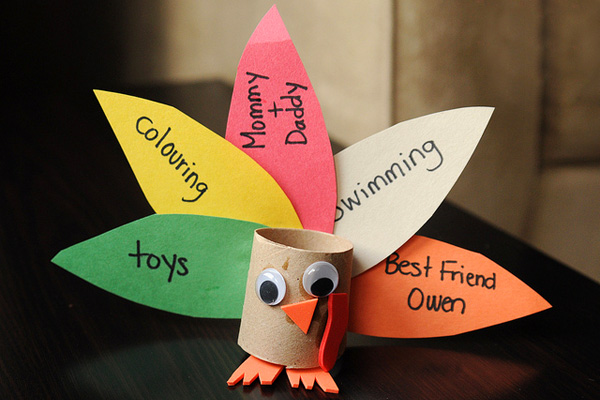 16 thanksgiving decorations that kids can make parentmap for Thankful crafts for kids