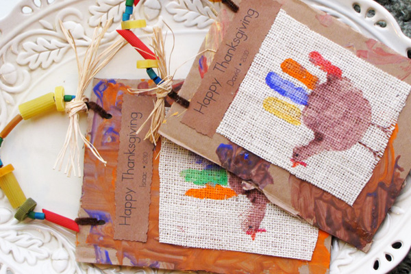 Thanksgiving keepsake bags by Share and Remember